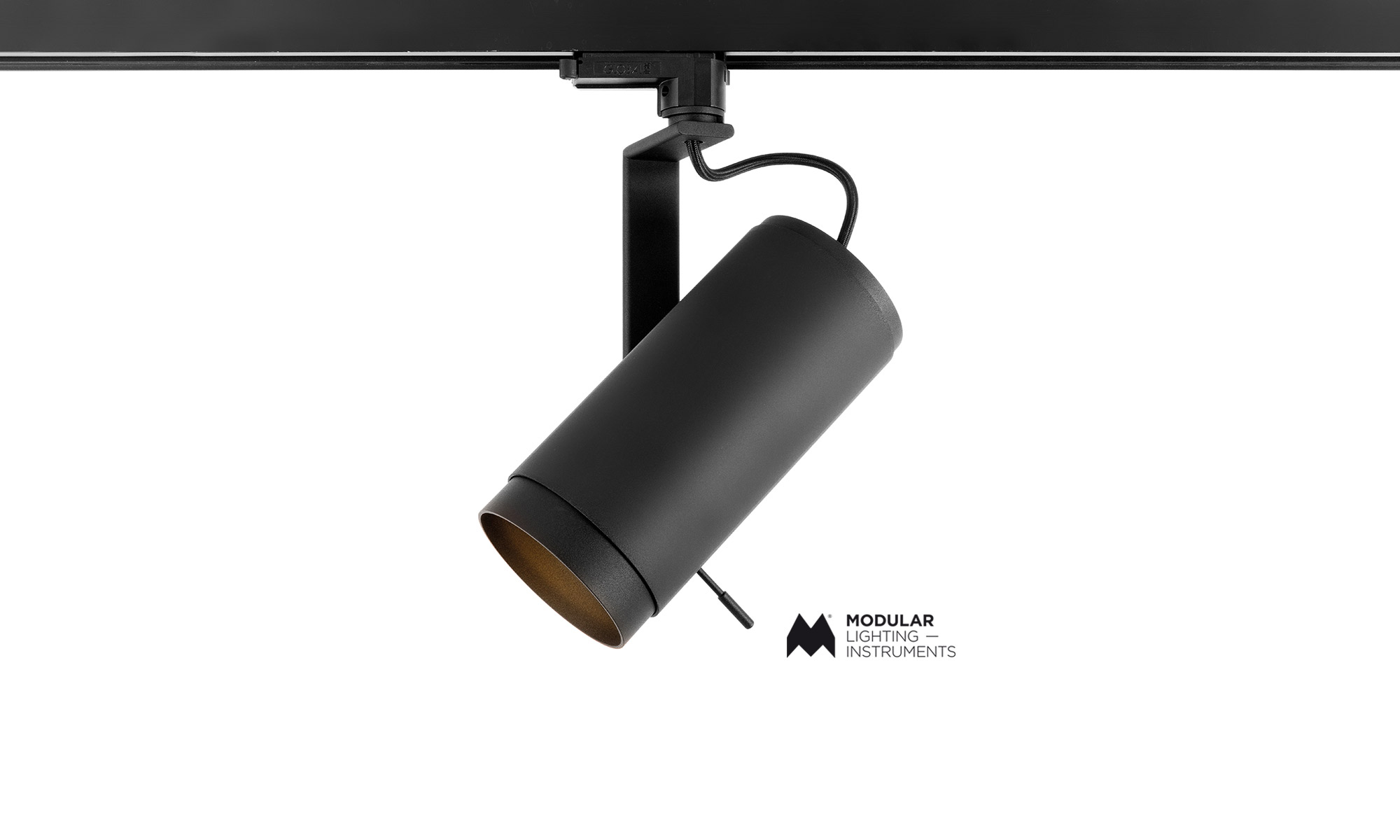 The first Modular trackspot with an adjustable zoom lens.