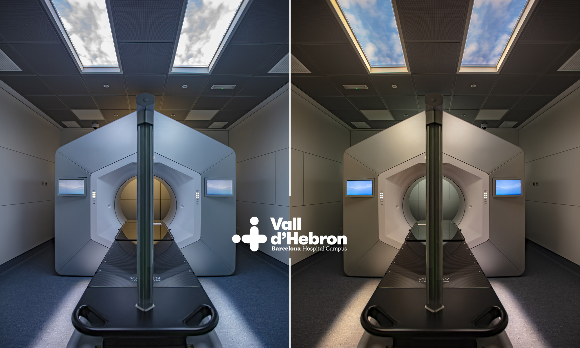 Radiotherapy room, Vall d'Hebron Hospital (Barcelona)